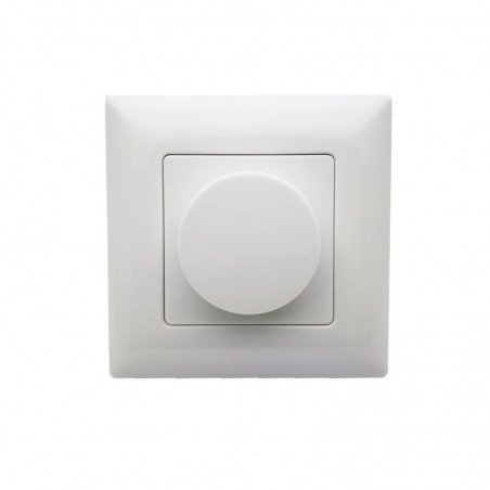 New led Dimmer 220V KS LED Wall Mount Manual Knob Panel Triac Dimmer 110V-240V dimming for led Lamp