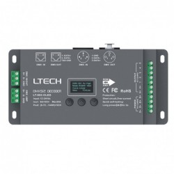 New Ltech Led DMX Decoder...
