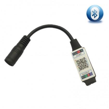 LED Bluetooth RGB Controler LED Lights Controller Smart phone APP Bluetooth Led Controller DC5-24V F