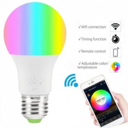 E27 LED Smart bulb Wifi...