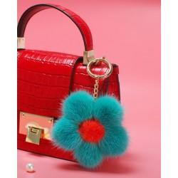 Mink Fur Bag Charm