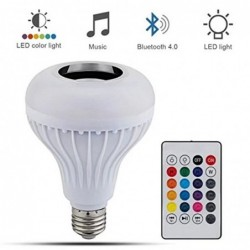LED Light Bulb Bluetooth...