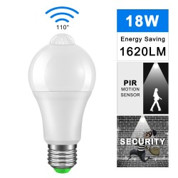IP42 LED PIR Sensor Bulb...