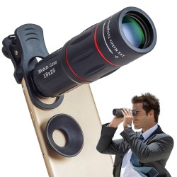 18X Telescope Zoom Mobile Phone Lens for Smartphone