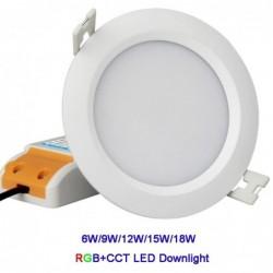 Milight FUT062 9W RGB+CCT...