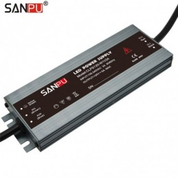 SANPU CLPS120 LED Power Supply DC 12/24V 120W IP67 Transformer Slim LED Driver