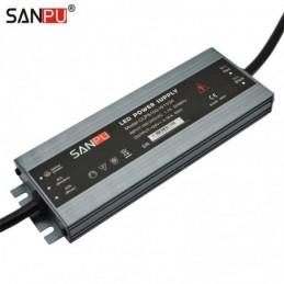 SANPU LED Power Supply 100W 24V IP67 Waterproof Constant Voltage AC-DC 24 Volt Lighting Transformer LEDs Driver IP66 24VDC Slim