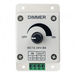 8A led dimmer DC12-24V