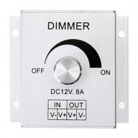 8A Knob Controller LED Light Switch Dimmer