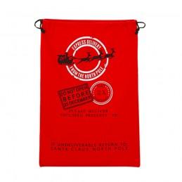 Christmas Sacks Stocking Xmas Gift Bag Santa Christmas Cotton Linen Sack Holder Drawstring Bag Candy Pouch Favor