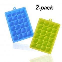 Silicone Ice Cube Trays 2 Pack