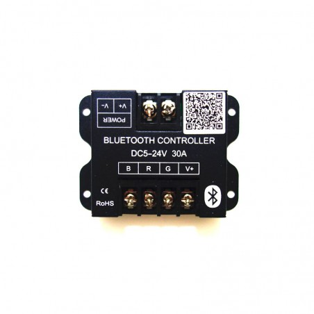 DC5-24V 30A Bluetooth Smartphone APP Controller for RGB 5050 3528 LED Strip Lighting