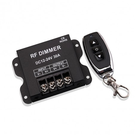 DC12-24V 30A RF Dimmer With 3Key Remote Control