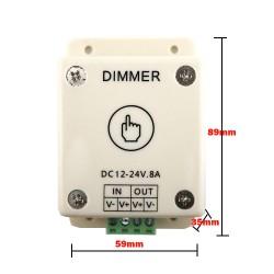 DC12V 24V 8A Touch LED Dimmer
