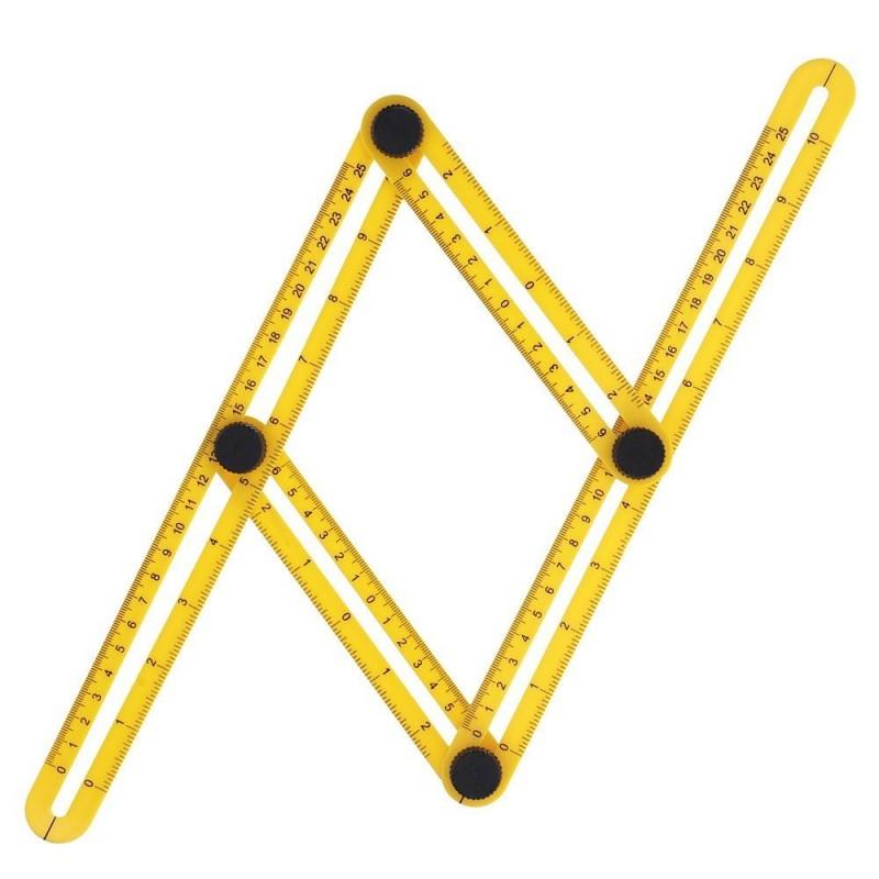 Angle Angleizer Template Tool Multi Angle Ruler For Handymen