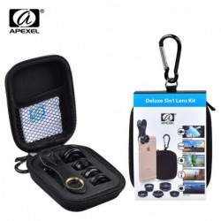 HD Camera Lens Kit 5 in 1...