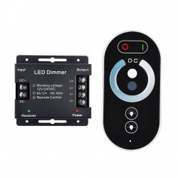RF TOUCH LED DIMMER WIRELESS REMOTE CONTROLLER DC12-24V