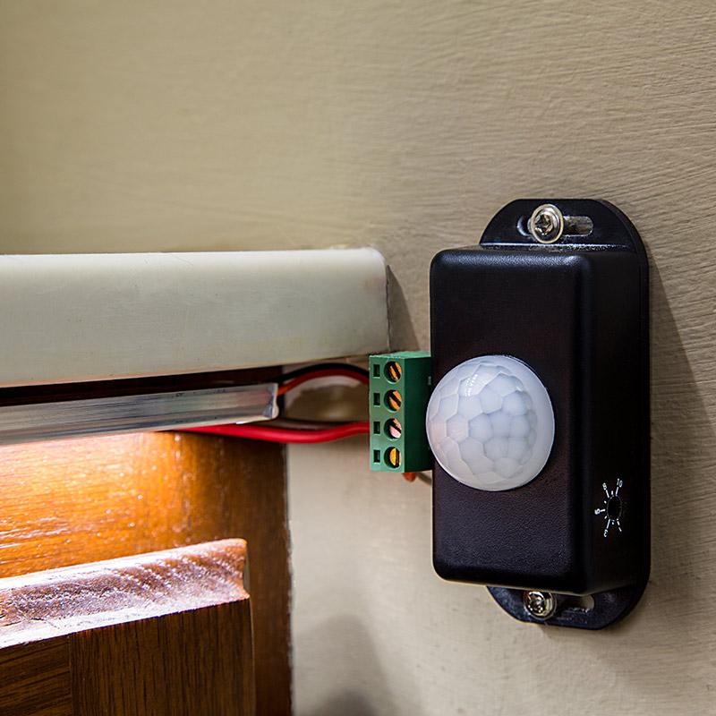 Diagram Mini Pir Motion Sensor Switch W Built In Timer